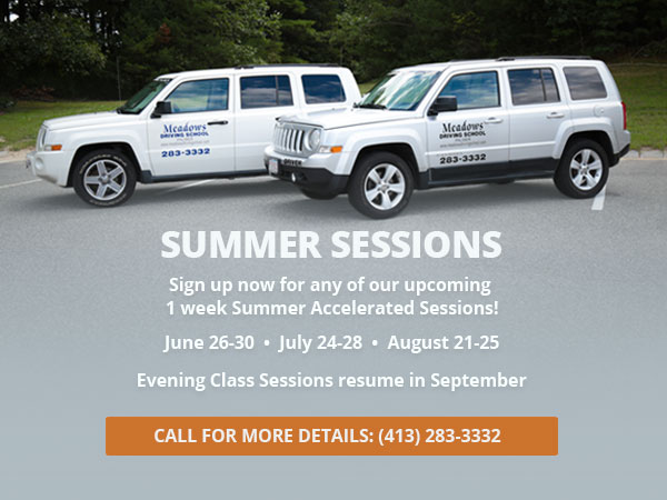 Summer Promotion: Sign up now for any of our upcoming 1 week Summer Accelerated Sessions